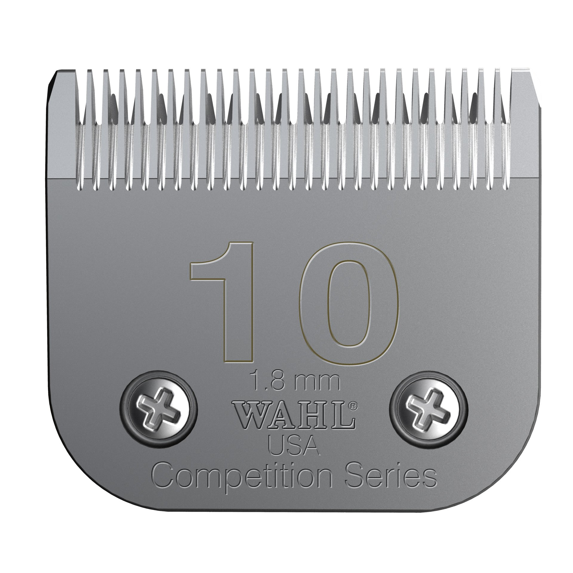 Wahl Professional Animal #10 Medium Competition Series Detachable Blade with 1/16-Inch Cut Length (#2358-100) by Wahl Professional Animal