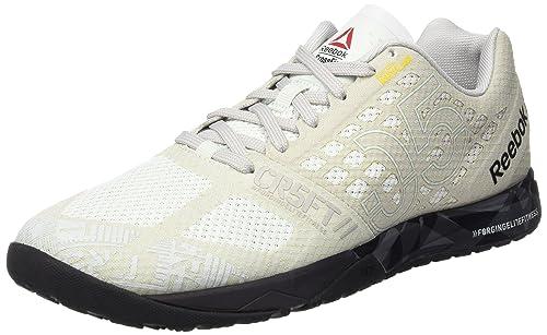 Reebok R Crossfit Nano 5.0 Zapatillas de deporte, Hombre, Beige (Opal / Steel / Coal / Black / Shark), 40: Amazon.es: Zapatos y complementos
