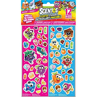 Scentos Scratch 'n Sniff Stickers Party Favors 12 pack: Toys & Games