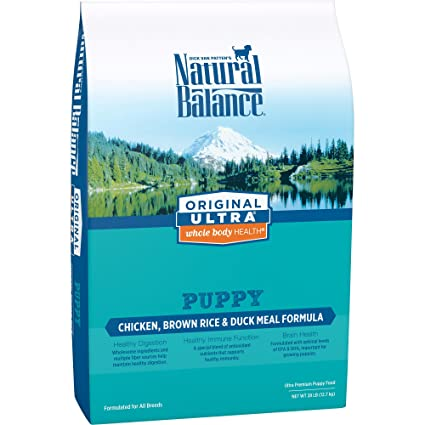 Amazon Com Natural Balance Puppy Formula Dry Dog Food Original