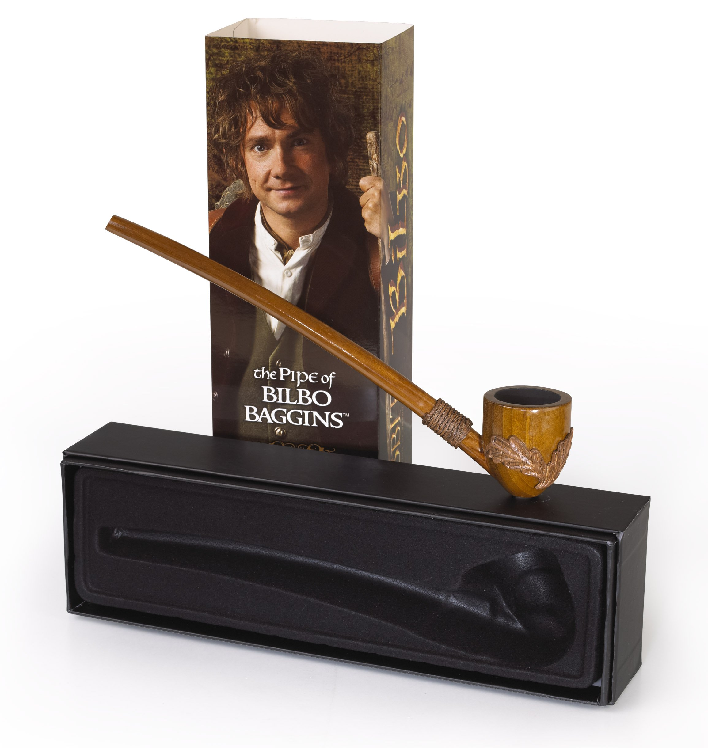 The Pipe of Bilbo Baggins ~ Functional Replica Pipe ~ The Hobbit by The Noble Collection