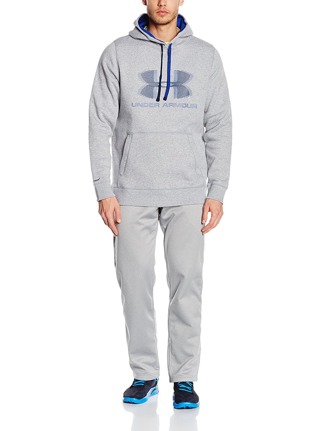 Under Armour Sudadera con Capucha Storm Rival Graphic Po Gris 3XL: Amazon.es: Ropa y accesorios