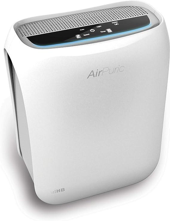 HB AP2040DW Purificador de aire, 50 W, 30 Decibeles, Polímero Libre de BPA, 3 Velocidades, Blanco: Amazon.es: Hogar