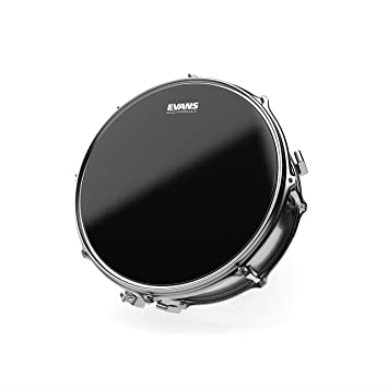 "Evans 14/"" Hydraulic Black Coated Snare Drum Head B14HBG"