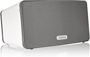 Sonos PLAY:3 Mid-Sized Wireless Smart Speaker for Streaming Music. Works with Alexa. (White)