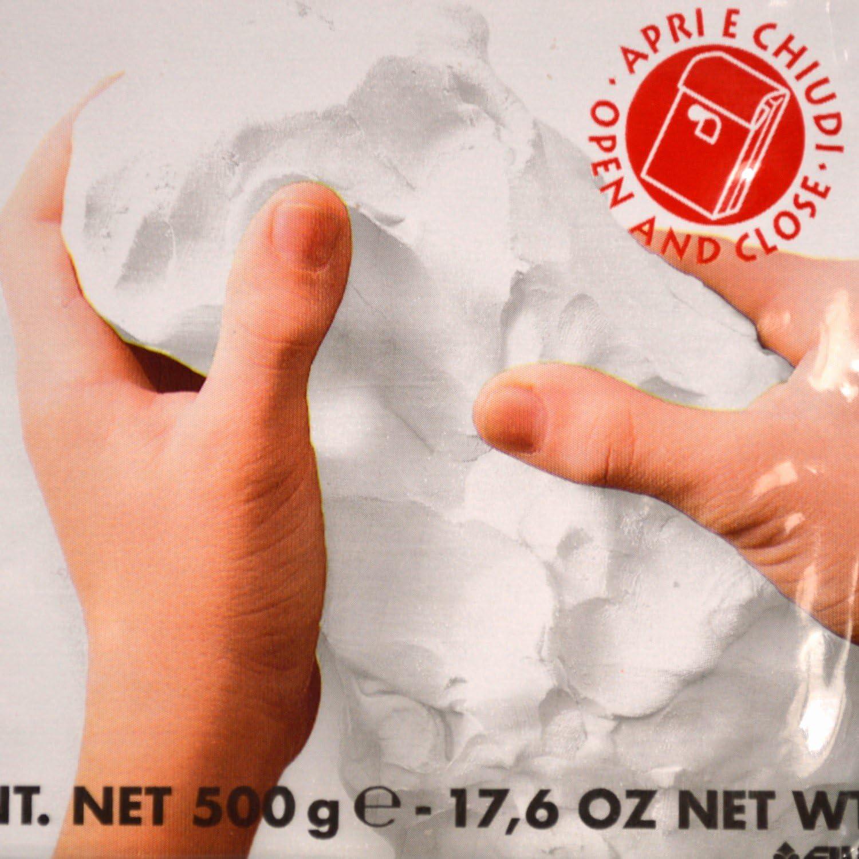 Terra Cotta Color Block 387100 DAS Air-Hardening Modeling Clay 1.1 Lb