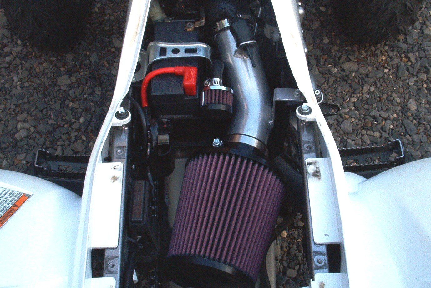 Malone Motorsports VelI-700r-1L Raptor 700 Velocity Intake System with Large K&N Filter by Velocity Intake Systems (Image #3)