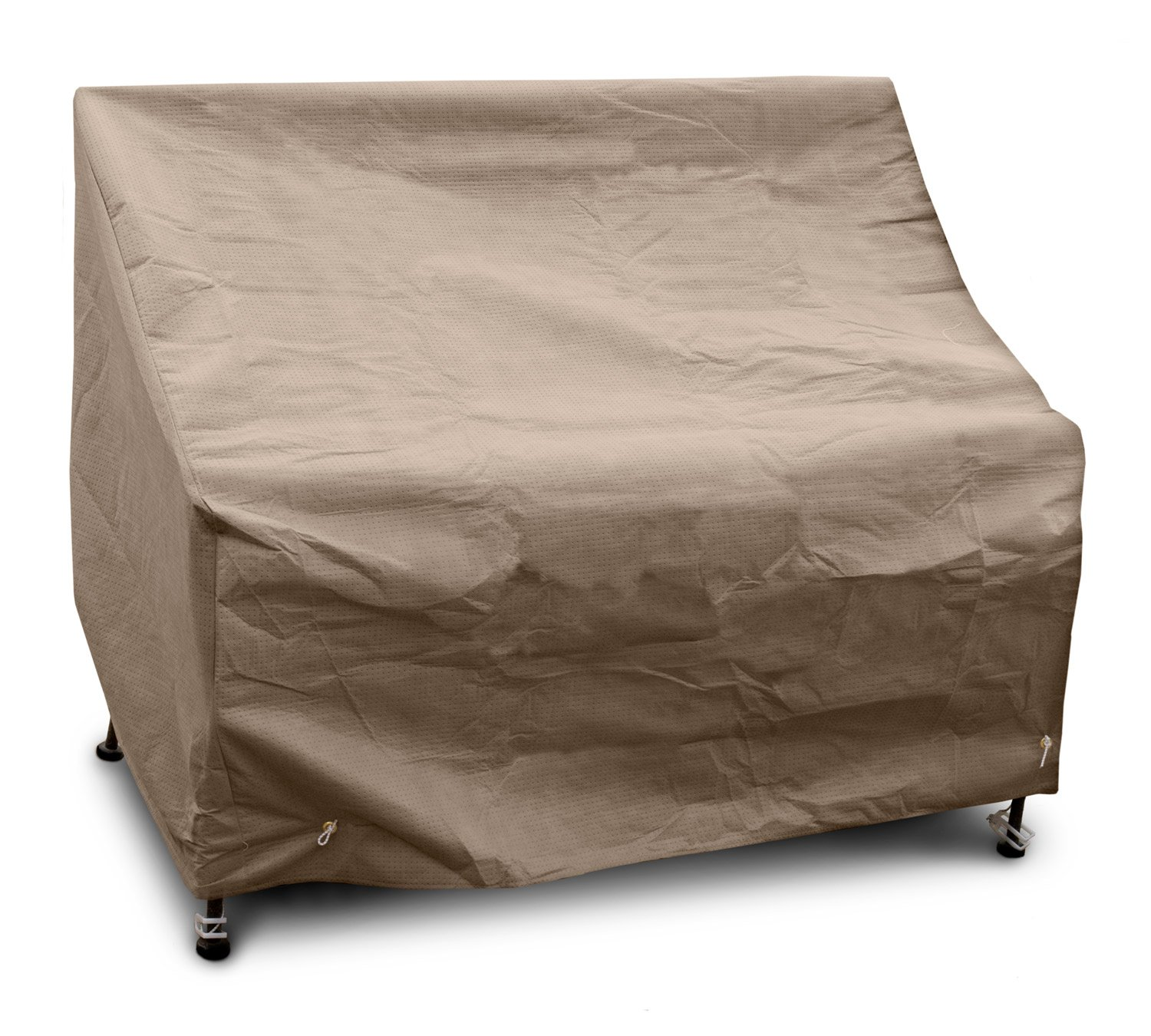 KoverRoos III 34203 5-Feet Bench/Glider Cover, 63-Inch Width by 28-Inch Diameter by 37-Inch Height, Taupe by KOVERROOS