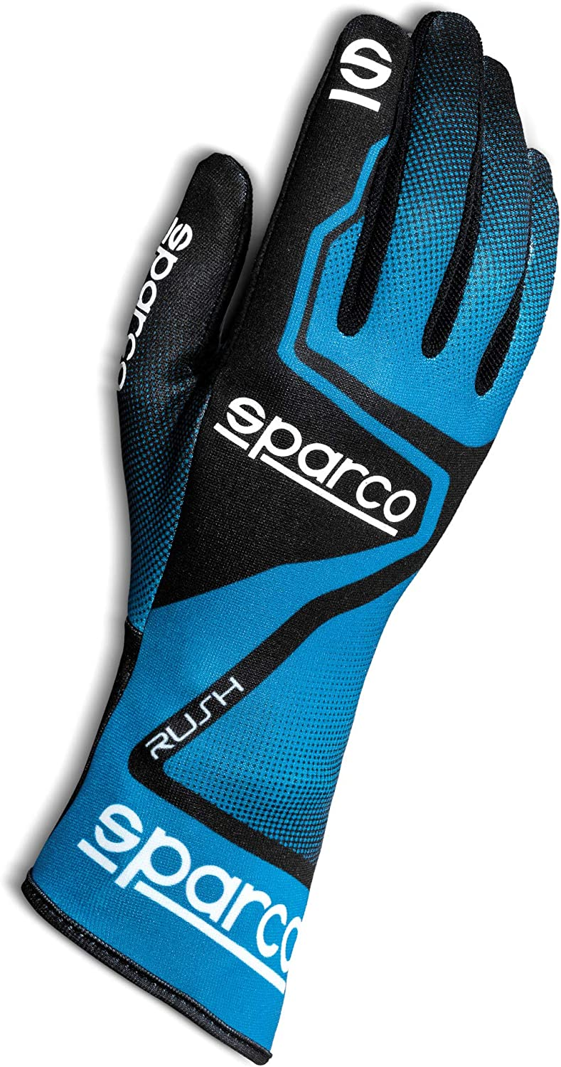 Sparco Unisex's Riding Gloves (Blue, us_6)