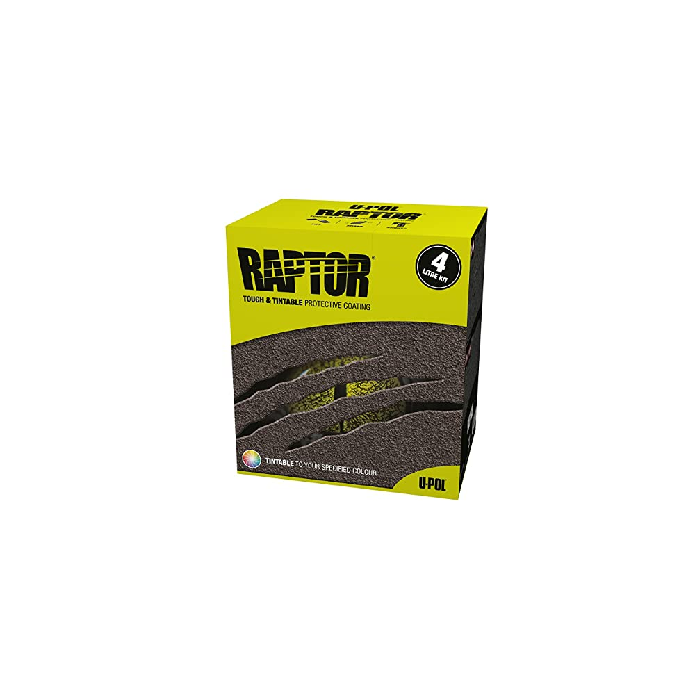 U-Pol Products 0820 RAPTOR Black Truck Bed Liner Kit - 4 Liter Review