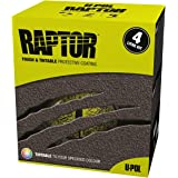 U-Pol Products 0820 RAPTOR Black Truck Bed Liner Kit - 4 Liter
