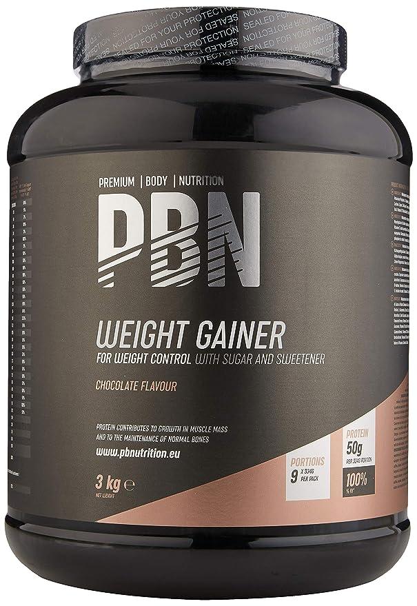 24 opinioni per PBN Weight Gainer Chocolate 3kg Jar
