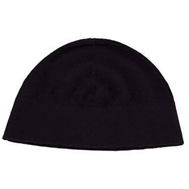 bba1fe0cf32 Love Cashmere Mens 100% Cashmere Watch Cap Beanie - Black - Made in ...