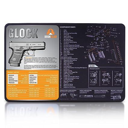 Amazon Ironclad Ar 15 Gun Cleaning Mat 38 X 14 3mm