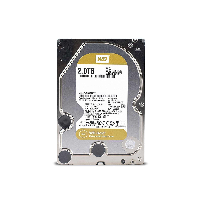 Western Digital WD2005FBYZ WD 2TB Interne Festplatte gold