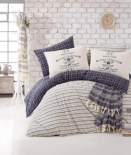 Amazon Com Bekata Monaco Perfect Design Nautical Bedding Set 100