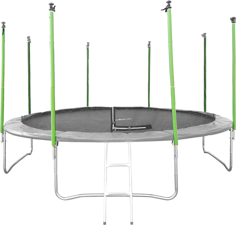 JUMP4FUN – Protecciones de Tubo para Cama elástica, Color Verde ...