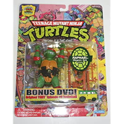 Teenage Mutant Ninja Turtles 25th Anniversary Action Figure Raphael: Toys & Games