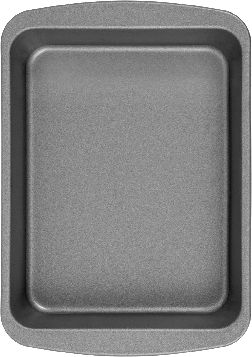G & S Metal Products Company OvenStuff Nonstick Toaster Oven Bake and Roast Pan, 6.5 x 8.5 x 1.8 inches, Gray