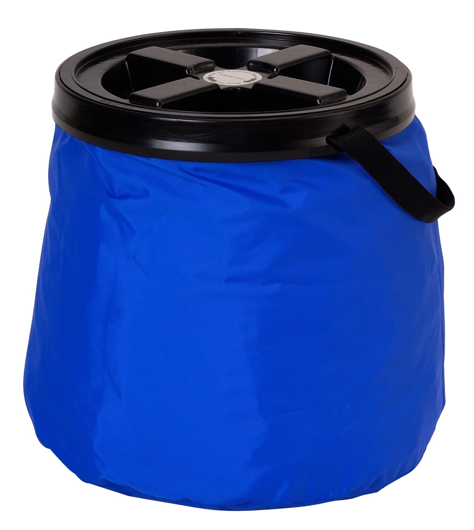 Vittles Vault SoftStore Collapsible, Airtight Pet Food Container 30 Pound Capacity, Blue