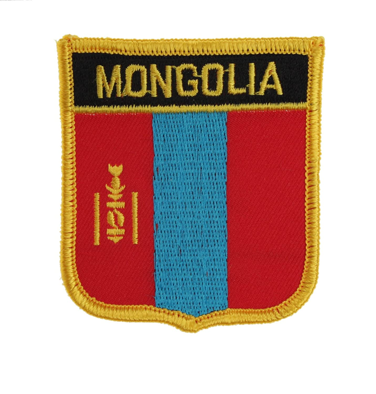 Yantec wappenpatch mongolie /écusson