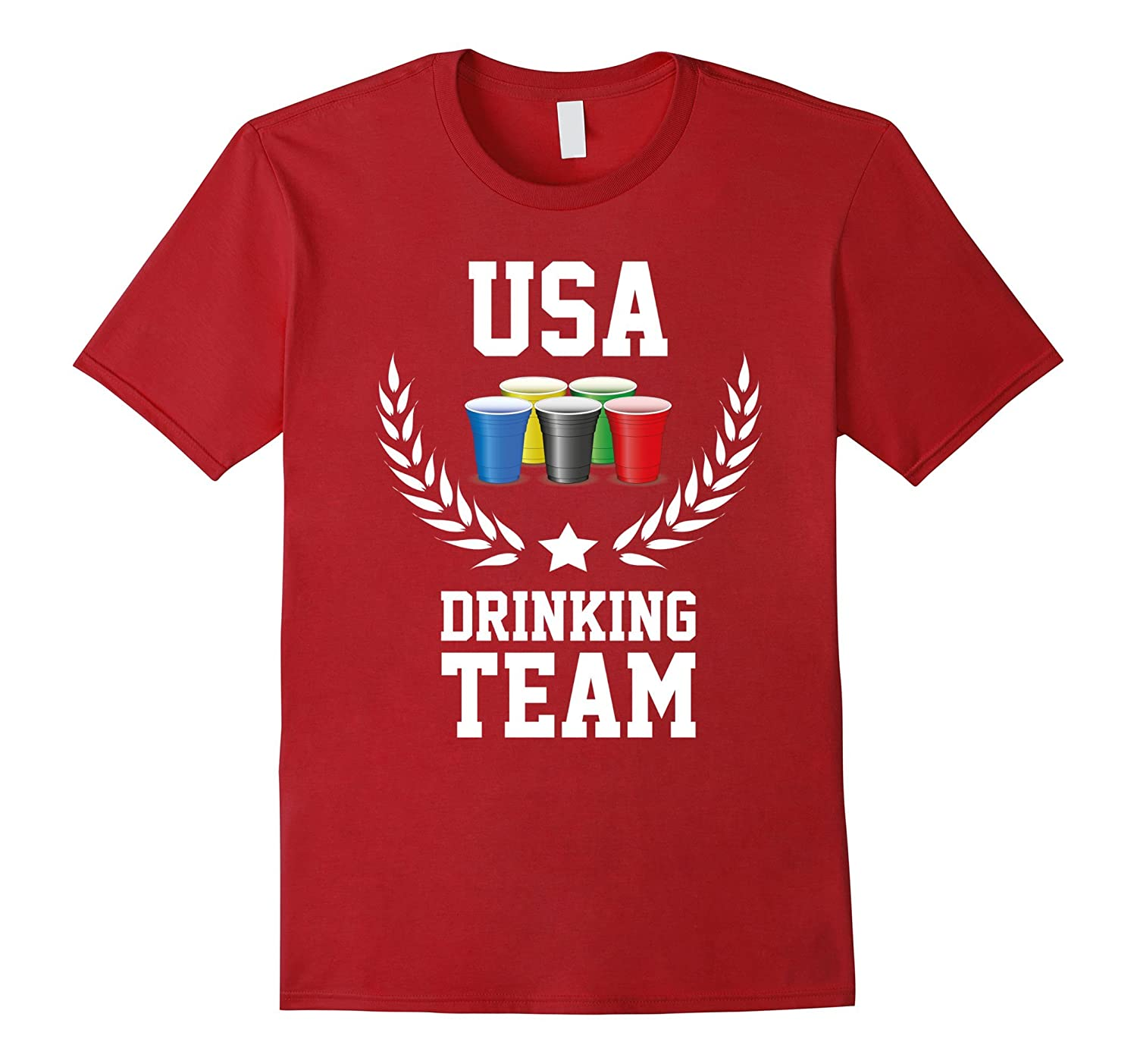 USA Drinking Team T-Shirt - Sport Games 2016 - Unisex-CL
