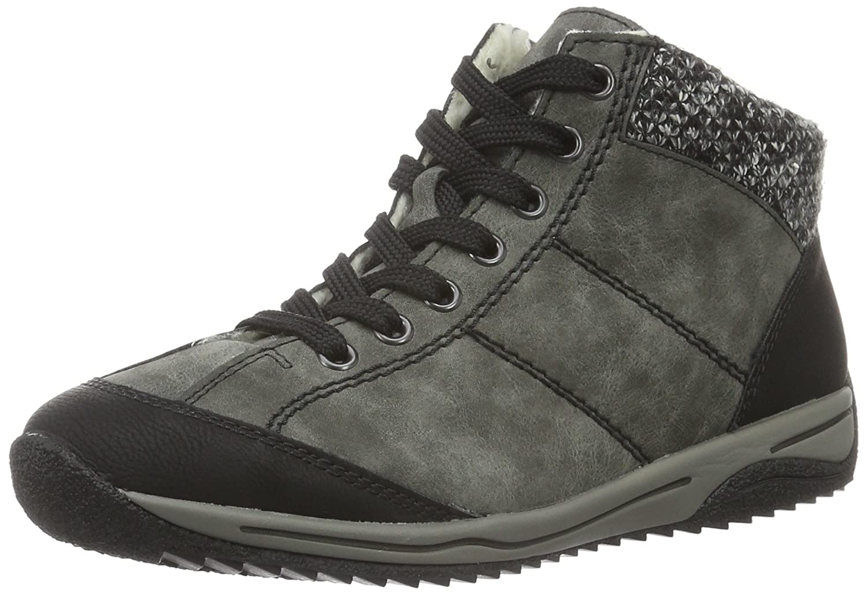068b0387d45ddb Rieker L5223 Damen Schnürstiefel  Amazon.de  Schuhe   Handtaschen
