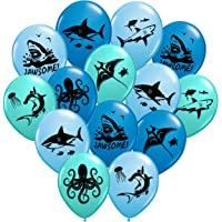Gypsy Jade's Shark Balloons - Great For Shark Themed Birthday Parties, Shark Week Parties or Under-The-Sea gatherings…