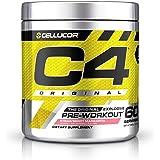 C4 Original Pre Workout Powder Strawberry Margarita  Vitamin C for Immune Support   Sugar Free Preworkout Energy for Men & W
