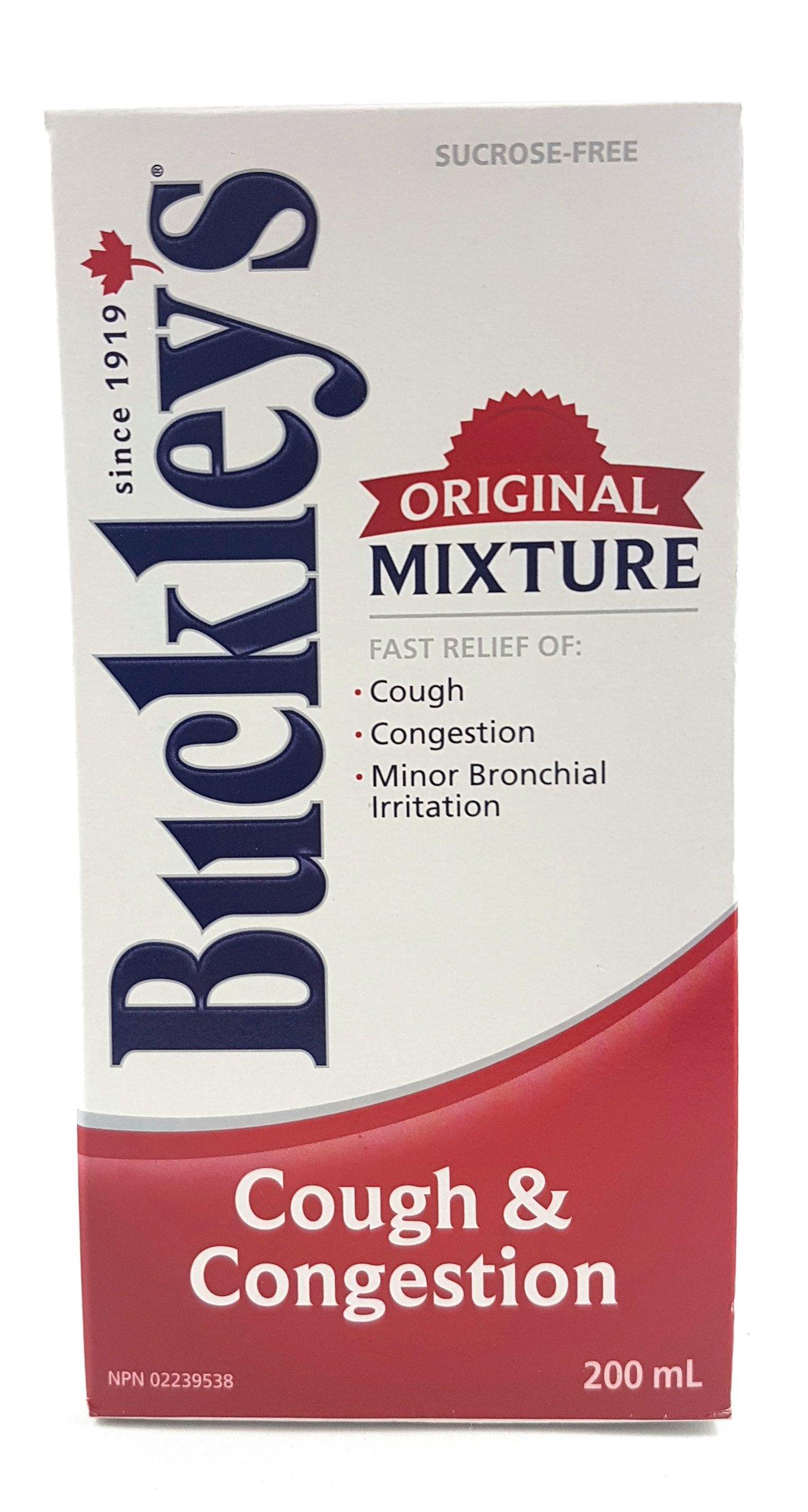 Buckleys Original Cough Congestion Syrup 200 Ml by Buckley