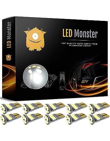 LED Monster 10pcs T10 Wedge Best Value Super Bright High Power 3014 15-SMD 194