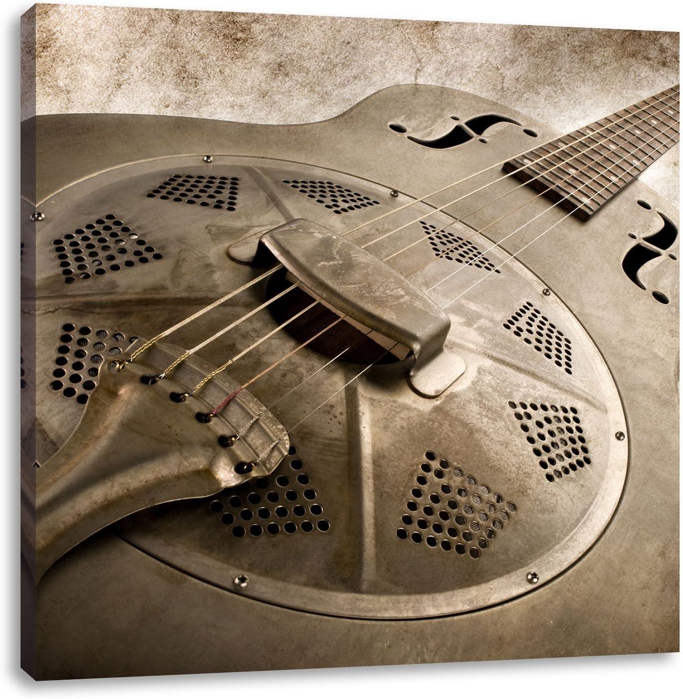 Bella vieja guitarra, imágenes XXL enormes completamente página con La horma, EL Arte de la pared impreso con La parte más económico Como pintura O pintura AL óleo, ningún manifiesto O póster: