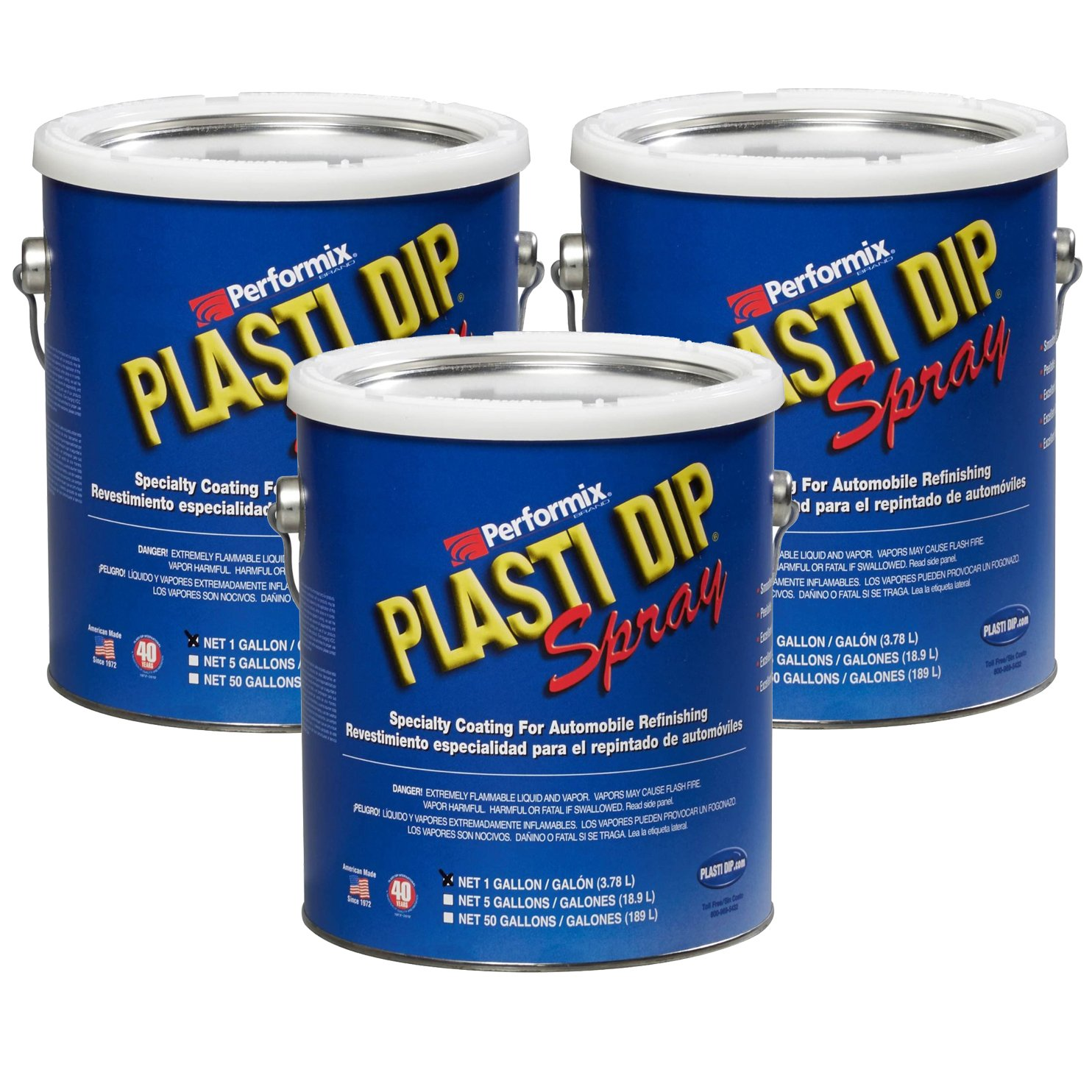 Plasti Dip Multi Purpose Rubber Coating Spray - Camo Tan - 1 Gallon (Pack of 3)