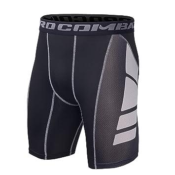 nuevo concepto f0663 f4f23 Hivexagon Pantalones Cortos de Compresión de Media Pierna ...