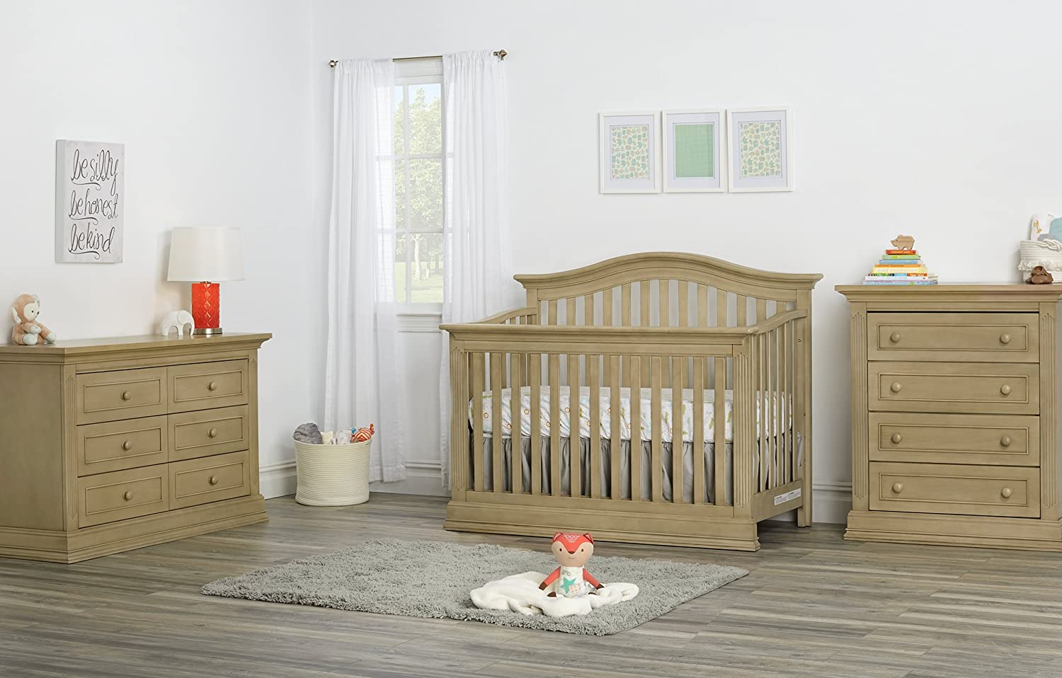 Amazon.com: Suite Bebe Dakota 4 cajones, Driftwood: Baby