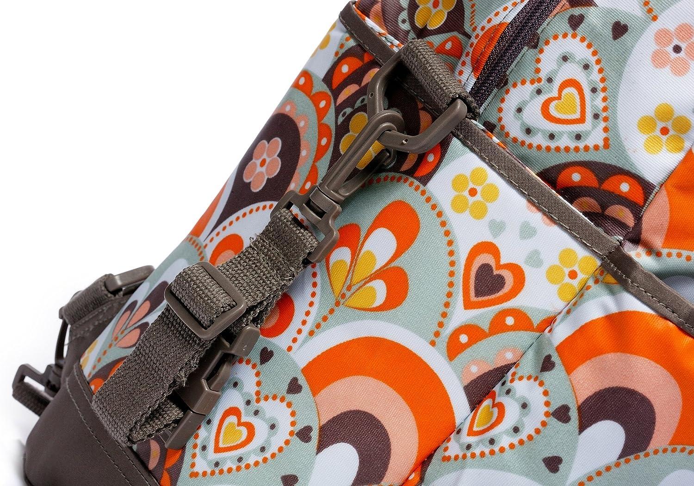 Momymoo Zoe Ii Baby Changing Bag Retro