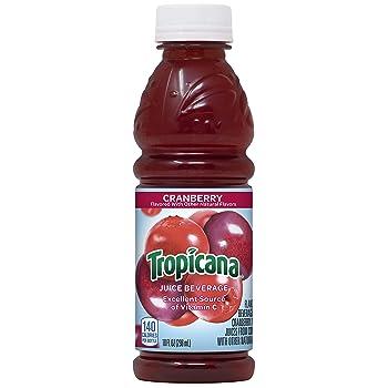 Tropicana 10-ounce Cocktail Cranberry Juice