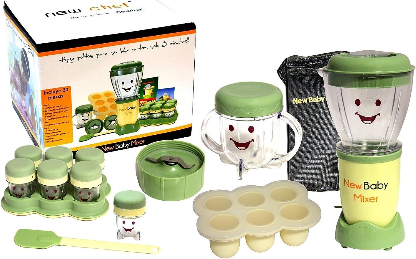 NEWCOOK Robot De Cocina Baby NL209: Amazon.es