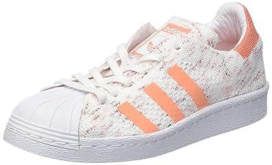adidas Superstar 80S PK W, Zapatillas de Deporte para Mujer, (Ftwbla/Buruni / Senade), 40 2/3 EU: Amazon.es: Zapatos y complementos