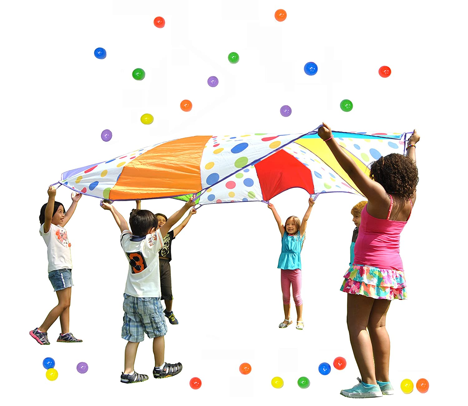 parachute cooperative learning team builder for kids