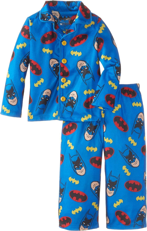 Komar Kids Little Boys/' Batman Button Front Pajama Set