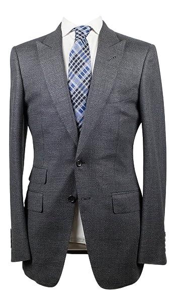 Tom Ford Gray Peak Lapels Wool Blend 2 Button Suit Size 48