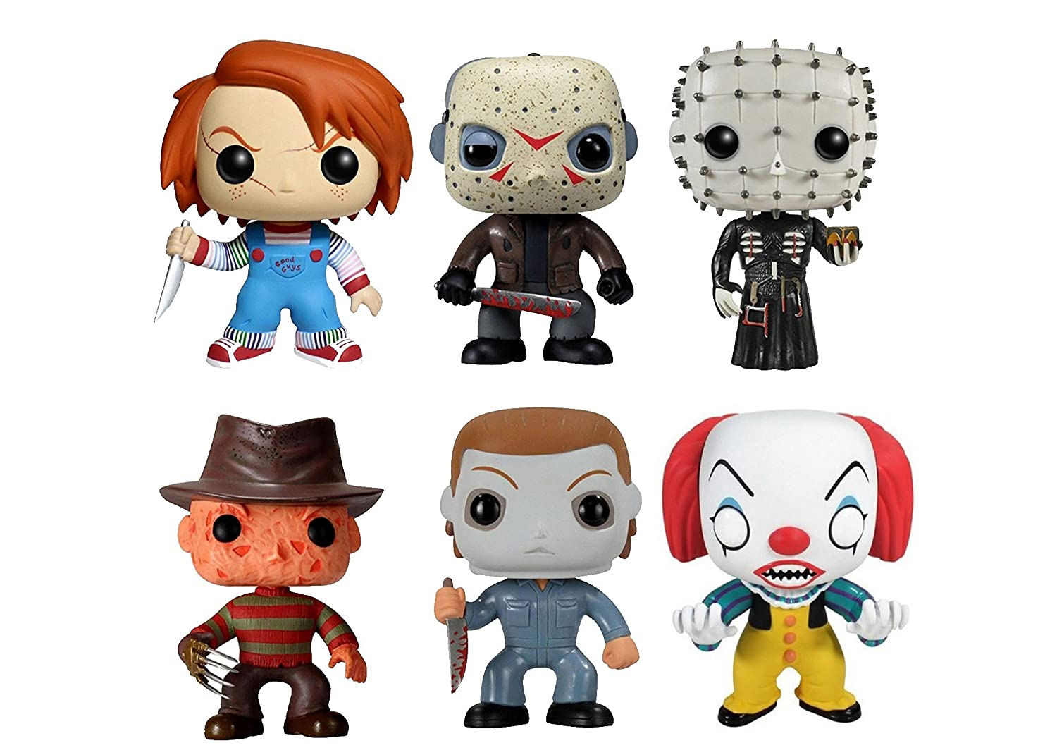Funko Pop! Movies: Classic Horror Collection 3.75 Vinyl Figures (Set of 6)