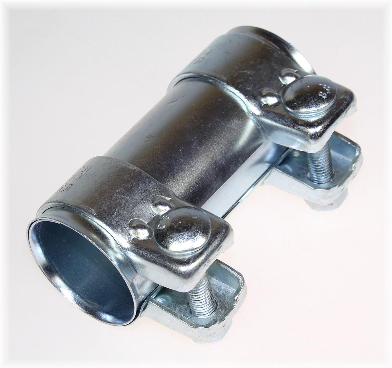 Bayworld Auspuff Universal Rohrverbinder 48x52 5x125mm Doppelschelle 48x125mm Auto