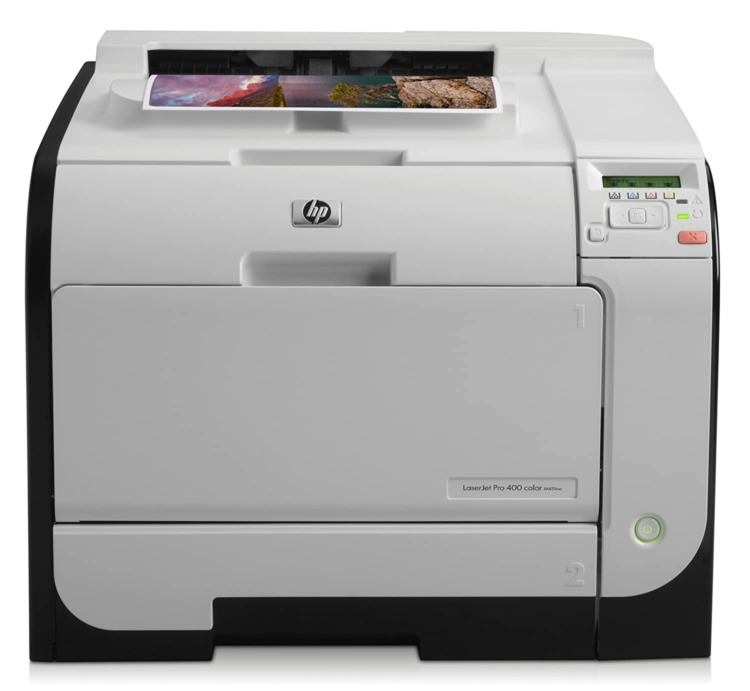 Amazon.com: HP LaserJet Pro 400 M451nw Color Printer (CE956A) (Discontinued  By Manufacturer): Electronics