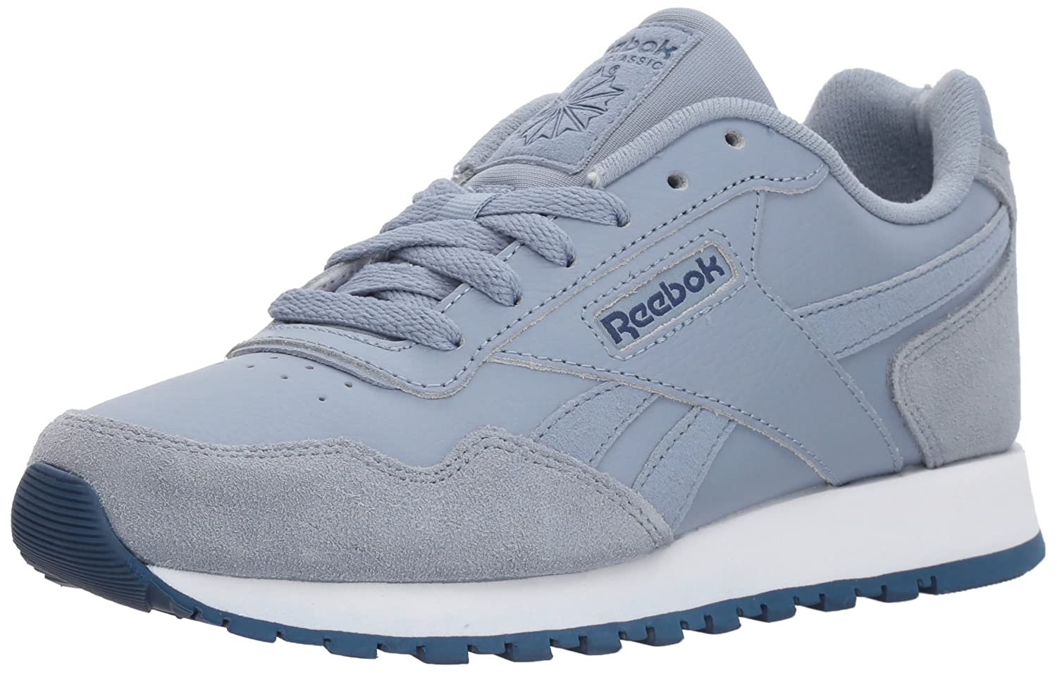 Reebok Women's Classic US|Rain Harman Run Sneaker B072JCKMKX 6.5 B(M) US|Rain Classic Cloud/Washed Blue/White 16a461