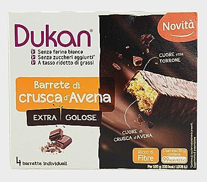 Dukan – Barrette de harina integral de avena extra Golose, dieta, Fibre – [