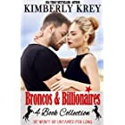 Broncos & Billionaires 4-Book Collection : Sweet, Swoon-Worthy Romance (Billionaire & or Cowboy Collections by Kimberly Krey