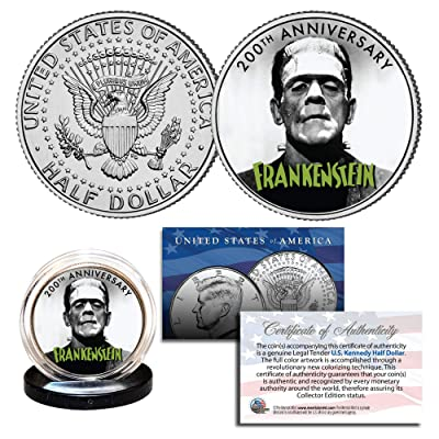 FRANKENSTEIN - The First 200 Years - 2020 Genuine JFK Half Dollar U.S. Coin: Everything Else