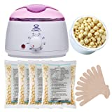Amazon Price History for:Makartt Wax Warmer Kit Melter Hair Removal Kit with 4 Bags Hard Wax Beans and 10 Wax Applicator Sticks
